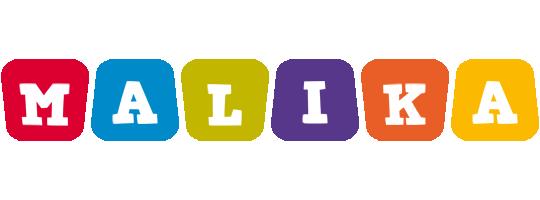 Malika daycare logo