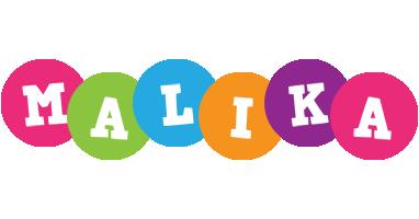 Malika friends logo