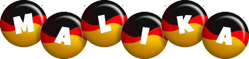 Malika german logo