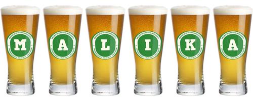 Malika lager logo