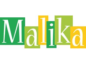 Malika lemonade logo