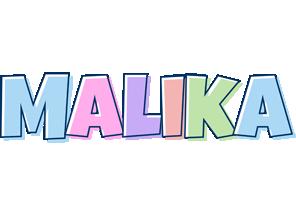 Malika pastel logo