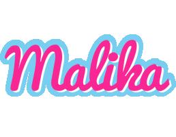 Malika popstar logo