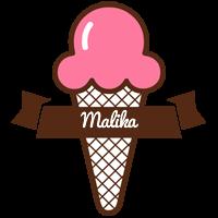 Malika premium logo