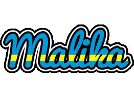 Malika sweden logo