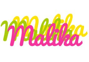 Malika sweets logo