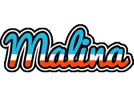 Malina america logo