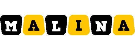 Malina boots logo