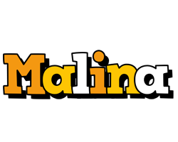 Malina cartoon logo