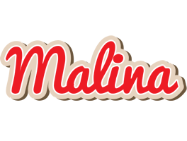 Malina chocolate logo