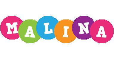 Malina friends logo