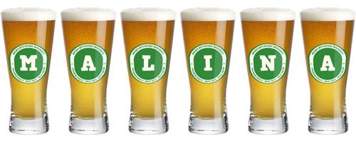 Malina lager logo