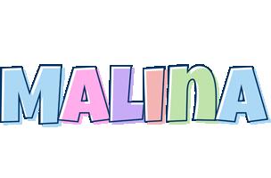 Malina pastel logo