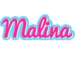 Malina popstar logo