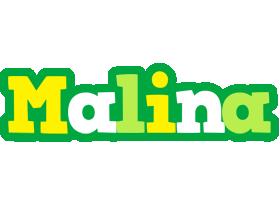 Malina soccer logo