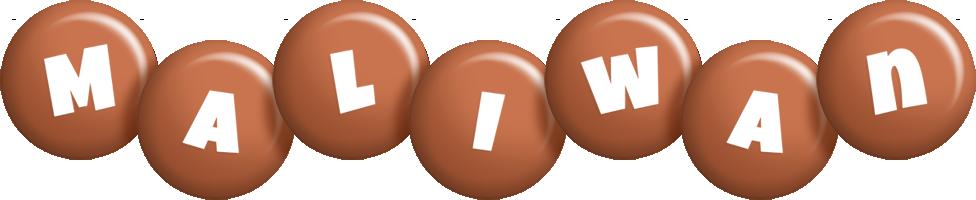 Maliwan candy-brown logo