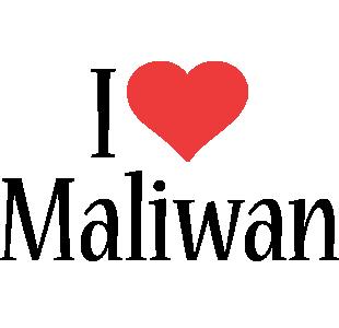 Maliwan i-love logo