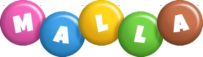 Malla candy logo