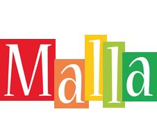 Malla colors logo