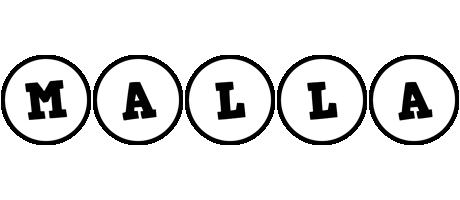 Malla handy logo