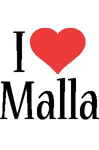 Malla i-love logo