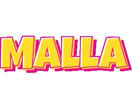 Malla kaboom logo