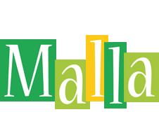 Malla lemonade logo