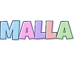 Malla pastel logo