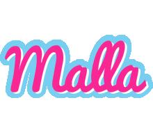 Malla popstar logo