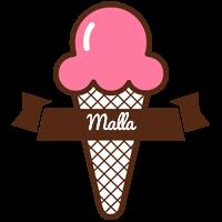 Malla premium logo