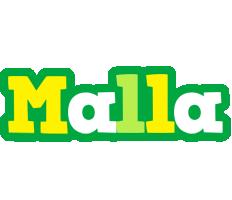 Malla soccer logo
