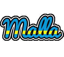 Malla sweden logo