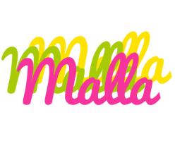 Malla sweets logo