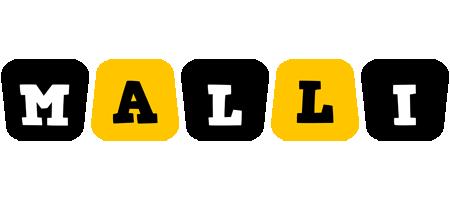 Malli boots logo