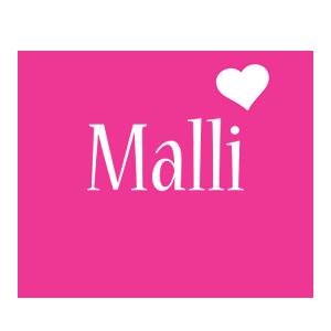 Malli love-heart logo