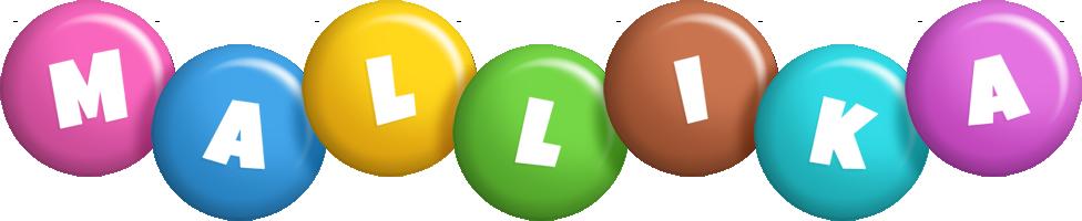 Mallika candy logo