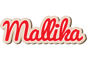 Mallika chocolate logo