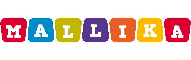 Mallika daycare logo