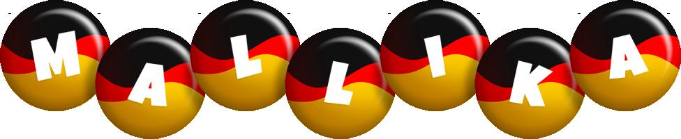 Mallika german logo
