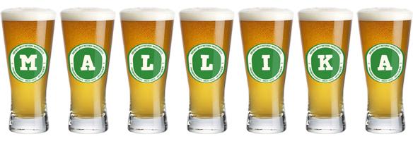 Mallika lager logo