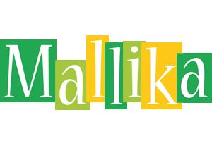 Mallika lemonade logo