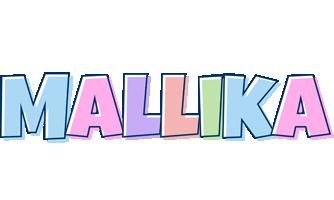Mallika pastel logo