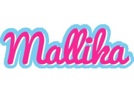 Mallika popstar logo