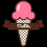 Mallika premium logo