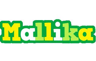 Mallika soccer logo