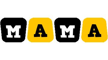 Mama boots logo