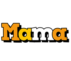 Mama cartoon logo