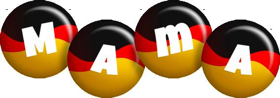 Mama german logo