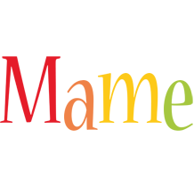 Mame birthday logo