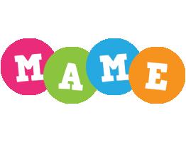 Mame friends logo